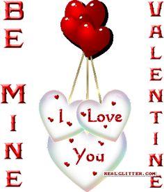valentines gif | Happy Valentine's Day Glitter - Valentine's Day Glitter Gifts for your ...