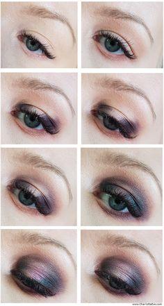 Purple Duochrome makeup tutorial - using NYX Perfect Filter Marine Layer Palette #purpleeyemakeup #duochromemakeup