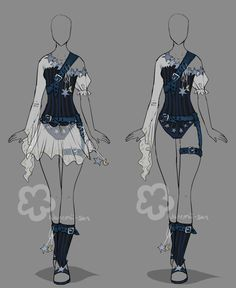 Fantasy Outfit - Auction open by Nahemii-san.deviantart.com on @deviantART