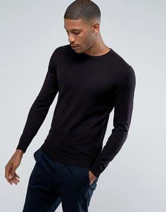 Esprit Cashmere Mix Sweater - Black