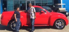 AVIS AND LEROY's new 2005 CHEVROLET SSR! Congratulations and best wishes from Orr Chevrolet and TERRY COUCH.