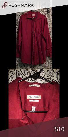 👨🏻💼MENS BUTTON DOWN LONG SLEEVE SHIRT 👨🏻💼MENS BUTTON DOWN LONG SLEEVE SHIRT--VAN HEUSEN Van Heusen Shirts Dress Shirts