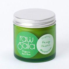 Weer volop leverbaar! Raw Gaia Organic Hemp Heaven Moisturiser en nog vele andere Raw Gaia producten!
