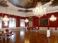 """This is """"The Conference Hall"""" in """"The Residenz"""" (or Salzburg Museum) in Salzburg.  This room is famous for Wolfgang Amadeus Mozart's concert at his age only six!  http://blogs.yahoo.co.jp/whfsc363/66079931.html"""
