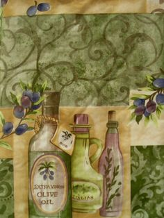Assorted-Sizes-Vinyl-FlannelBack-pictorial-Olives-Tablecloth-Multi-color-Elrene