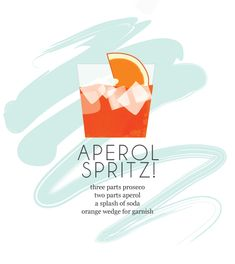 How to make an aperol spritz!