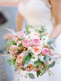 Bright peony bouquet: http://www.stylemepretty.com/2014/09/15/california-al-fresco-affair-with-a-secret-garden-vibe/ | Photography: Michael & Anna - http://www.michaelandannacosta.com/