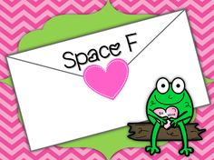 Love Notes: Line/Space Numbers AND Treble Clef Staff Review