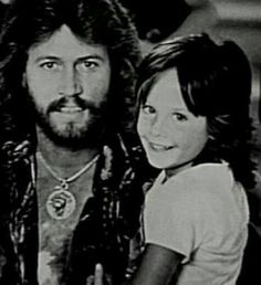 Barry Gibb and son Stephen.