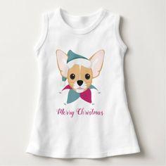 Chihuahua Christmas Dog Santa Hat Dress - Xmas ChristmasEve Christmas Eve Christmas merry xmas family kids gifts holidays Santa