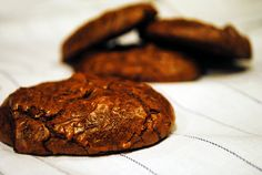 double chocolate brownie cookies are delicious! Click here to get the recipe: http://cakejournal.com/recipes/double-chocolate-brownie-cookies/
