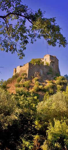 The Castle of Isabella Morra - Valsinni (Matera), Basilicata, Italy