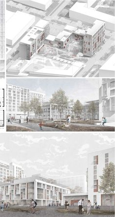 The project of the multifunctional complex Tat . - Architektur - The project of the multifunctional complex Tat …. Masterplan Architecture, Minecraft Architecture, Architecture Visualization, Architecture Board, Architecture Drawings, Landscape Architecture, Architecture Design, Seattle Architecture, Design Presentation