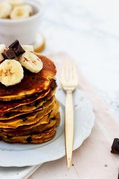 Pancakes Chocolat-Banane - L'Appartement Living