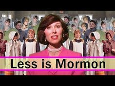 "Mrs. Betty Bowers, ""America's Best Christian"" explains that Less is Mormon...HILARIOUS yet every word is true!"