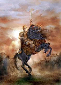 Alexander the Great - king of the ancient Greek kingdom of Macedonia