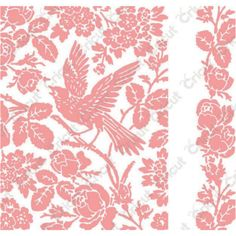 NEW! AVIARY PATTERN ANNA GRIFFIN CUTTLEBUG A2 EMBOSSING SET/BORDER  #ProvoCraft