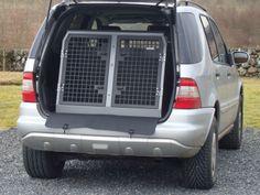 TransK9/B6 Mercedes ML Dog Cage Dog Crate Dog Transit Box www.transk9.com