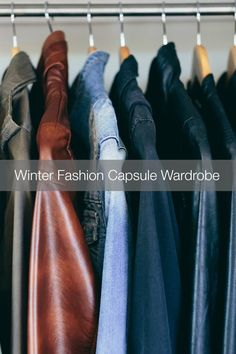 How to Create a Fashion Capsule Wardrobe for Winter from MomAdvice.com.