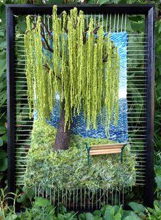 Dimensional Weaving - Martina Celerin 3D fiber art: Fourth Street Festival approaches!