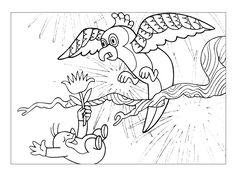 krtek a orel Rooster, Origami, Creative, Animals, Art, Animais, Craft Art, Animales, Animaux