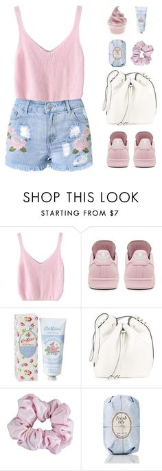 """The Final Cut"" by sweetpastelady ❤ liked on Polyvore featuring adidas, Cath Kidston, Luana, American Apparel and Fresh"