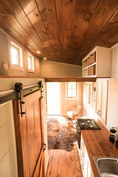 "Roomy loft with lots of storage ~ Meet Chicago's first tiny house resident: Toni Shelton. Toni, aka ""Disco Toni,"" owns an event planning/promotions/photography business. She's a 5-time serial entrepreneur fr…"