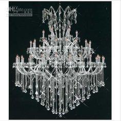 luxury chandelier lighting | Maria Theresa Luxury Chandelier Crystal Light Pendant Lighting ...