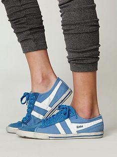i love cute sneakers in bright colors!  Classic Golas.