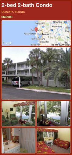 2-bed 2-bath Condo in Dunedin, Florida ►$68,900 #PropertyForSale #RealEstate #Florida http://florida-magic.com/properties/77892-condo-for-sale-in-dunedin-florida-with-2-bedroom-2-bathroom