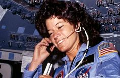 On June 18, 1983, Sally Ride became the first American woman in space as a crew member on Space Shuttle Challenger for STS-7