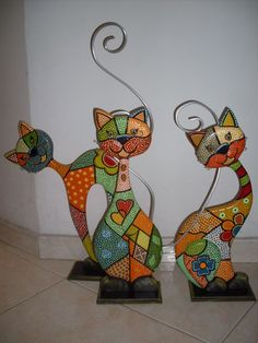 1 million+ Stunning Free Images to Use Anywhere Stained Glass Crafts, Stained Glass Patterns, Mosaic Art, Mosaic Glass, Cat Crafts, Arts And Crafts, L'art Du Vitrail, Art Fantaisiste, Rock Painting Patterns