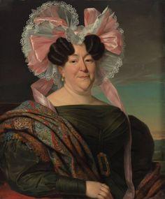 Dutch artist Jan Adam Kruseman (1804-1862) (48 works) Her cap is EPIC
