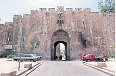 The Lions Gate is also known as St. Stephen's Gate, it is the location that Paul (Saul) witnessed the stoning of Steven. The Lion's Gate is located in the east wall, and leads to the Via Dolorosa. Near the top of the Lion's Gate are four figures of lions, two on the left and two on the right. Israeli paratroops from the 55th Paratroop Brigade came through this gate during the Six Day War in 1967.