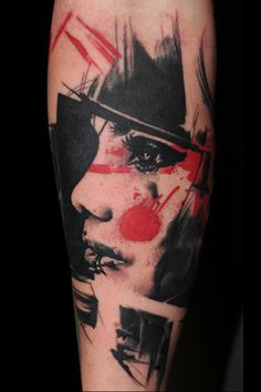 Trash Polka Tattoo | BuenaVistaTattooClub - Realistic Trash Polka Tattoos