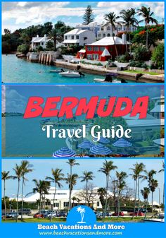 Bermuda vacation tips: where is the island, best time to travel to Bermuda, money and tipping, weather information, public transport and more travel tips Bermuda Vacations, Bermuda Travel, Cruise Vacation, Best Vacations, Vacation Trips, Vacation Ideas, Vacation Spots, Popular Honeymoon Destinations, Greece Destinations