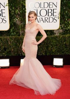Amy Adams in Marchesa at the Golden Globes 2013