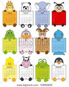 Animal calendar 2014 Poster Funny child with animal calendar Poster. Calendar 2014, Kids Calendar, Free Printable Calendar, Preschool Rules, Handmade Rakhi, Scientific Notation, Owl Theme Classroom, Adding And Subtracting, Handmade Birthday Cards