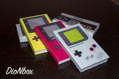 Libretas personalizadas edición game boy, cosidas a mano y hechas por @DioNbox