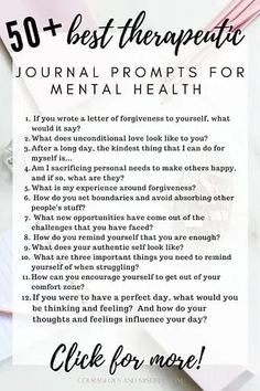 Journaling For Mental Health, Mental Health Art, Mental Health Therapy, Mental And Emotional Health, Bullet Journal Mental Health, Improve Mental Health, Mental Health Questions, Mental Health Awareness, Daily Journal Prompts