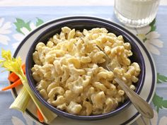 Looking for a tasty mac & cheese recipe? Cabots Healthier Mac & Cheese gives you the creamy flavor you want, with only 318 calories per  serving! Try today.