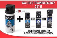 Walther Trainingsspray Sets!