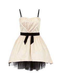 Lipsy V I P Velvet Bow Strapless Prom Dress - 21st birthday dress? possibly!