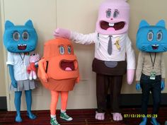 amazing world of gumball costumes - The Amazing World Of Gumball The Halloween