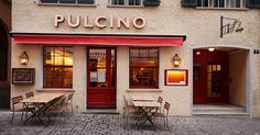 The menu at the Pulcino features lovingly prepared poultry dishes and other Italian delicacies.