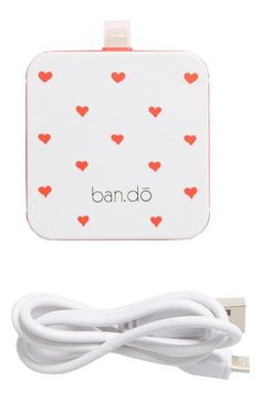 'Back Me Up' iPhone 5 Charger