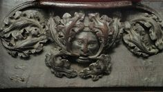 Green Man in St. Botolph's Church, Boston Lincolnshire, England (photo Chris Metcalfe)