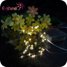 Holiday Decoration Rice LED Copper String Lights