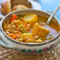 Puchero canario, receta tradicional