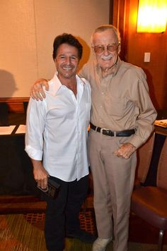 John Romita, Jr. and Stan Lee at Baltimore Comic Con 2012.